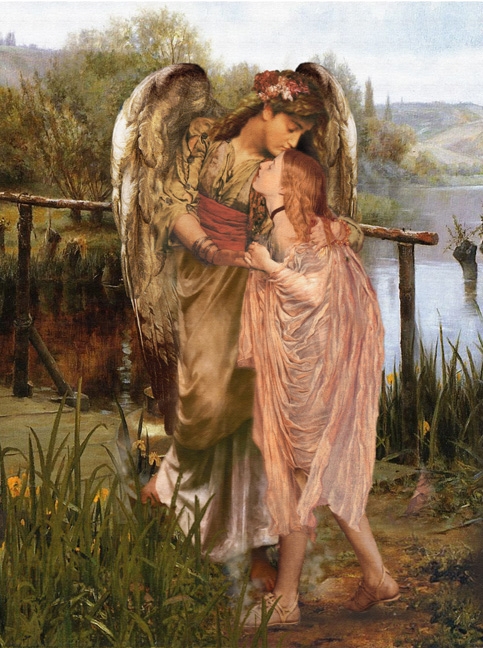 Kissed by an Angel The Johnson Galleries Reprint 027